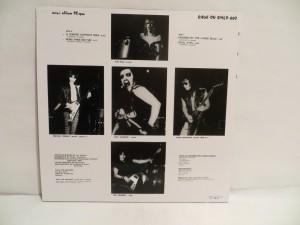 Mercyful Fate Mini LP 2011 Bootleg Red Marbled Vinyl back