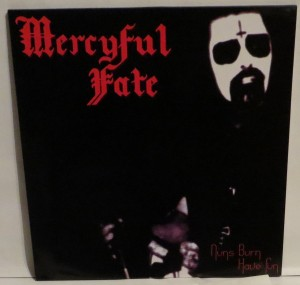 Mercyful Fate Nuns Burn Have Fun Test Press cover
