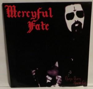 Mercyful Fate Nuns Burn Have Fun Test Press cover