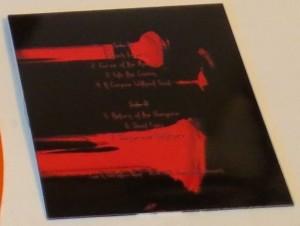 Mercyful Fate Nuns Burn Have Fun orange vinyl bonus cdr back