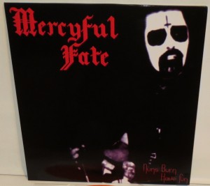Mercyful Fate Nuns Burn Have Fun orange vinyl cover