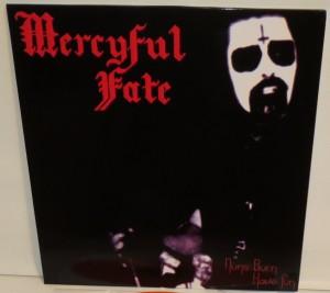 Mercyful Fate Nuns Burn Have Fun orange vinyl cover