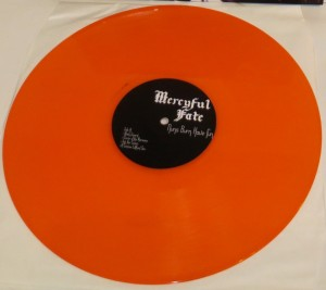 Mercyful Fate Nuns Burn Have Fun orange vinyl side a
