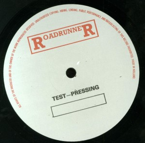 Mercyful Fate The Beginning Test Press with Test Press Label label side 1