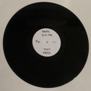 Brats 18.01.1981 Test Pressing LP