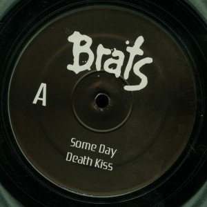 Brats Death Kiss Clear Vinyl LP label side a