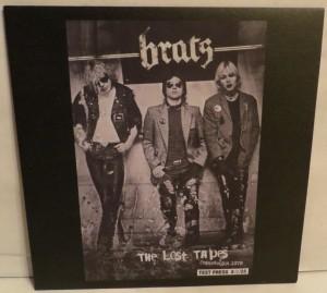 Brats The Lost Tapes Copenhagen 1979 Test Pressing LP