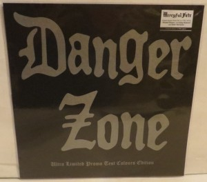 Danger Zone Danger Zone Demos BlueGrey Splatter Marbled Test Color LP