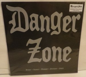 Danger Zone Danger Zone Demos Brown Marbled LP