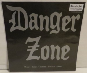 Danger Zone Danger Zone Demos Dark Red Burgundy Haze  LP