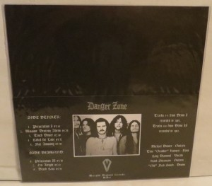 Danger Zone Danger Zone Demos Lettuce Green LP back