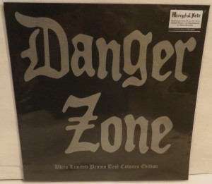 Danger Zone Danger Zone Demos Pink Marbled Test Color LP