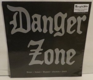 Danger Zone Danger Zone Demos Plain Dark Green Marbled LP
