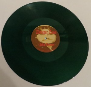 Danger Zone Danger Zone Demos Plain Dark Green Marbled LP side a
