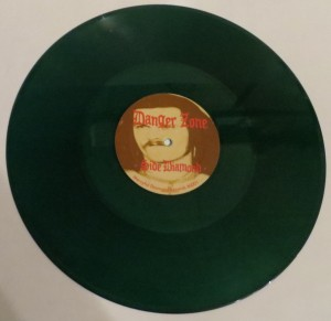 Danger Zone Danger Zone Demos Plain Dark Green Marbled LP side b