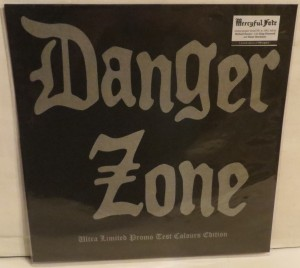 Danger Zone Danger Zone Demos Purple Marbled Test Color LP