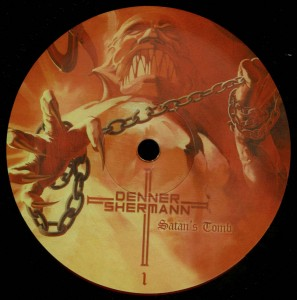 Denner Shermann Satan's Tomb LP label side a