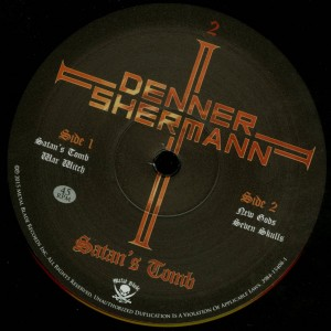 Denner Shermann Satan's Tomb LP label side b