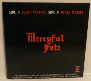 Mercyful Fate Black Funeral Black Masses 12'' Opens Right back