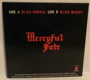 Mercyful Fate Black Funeral Black Masses 12'' Opens Right back