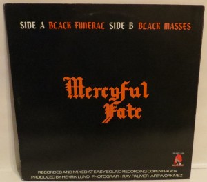 Mercyful Fate Black Funeral Black Masses 12'' Opens Up back