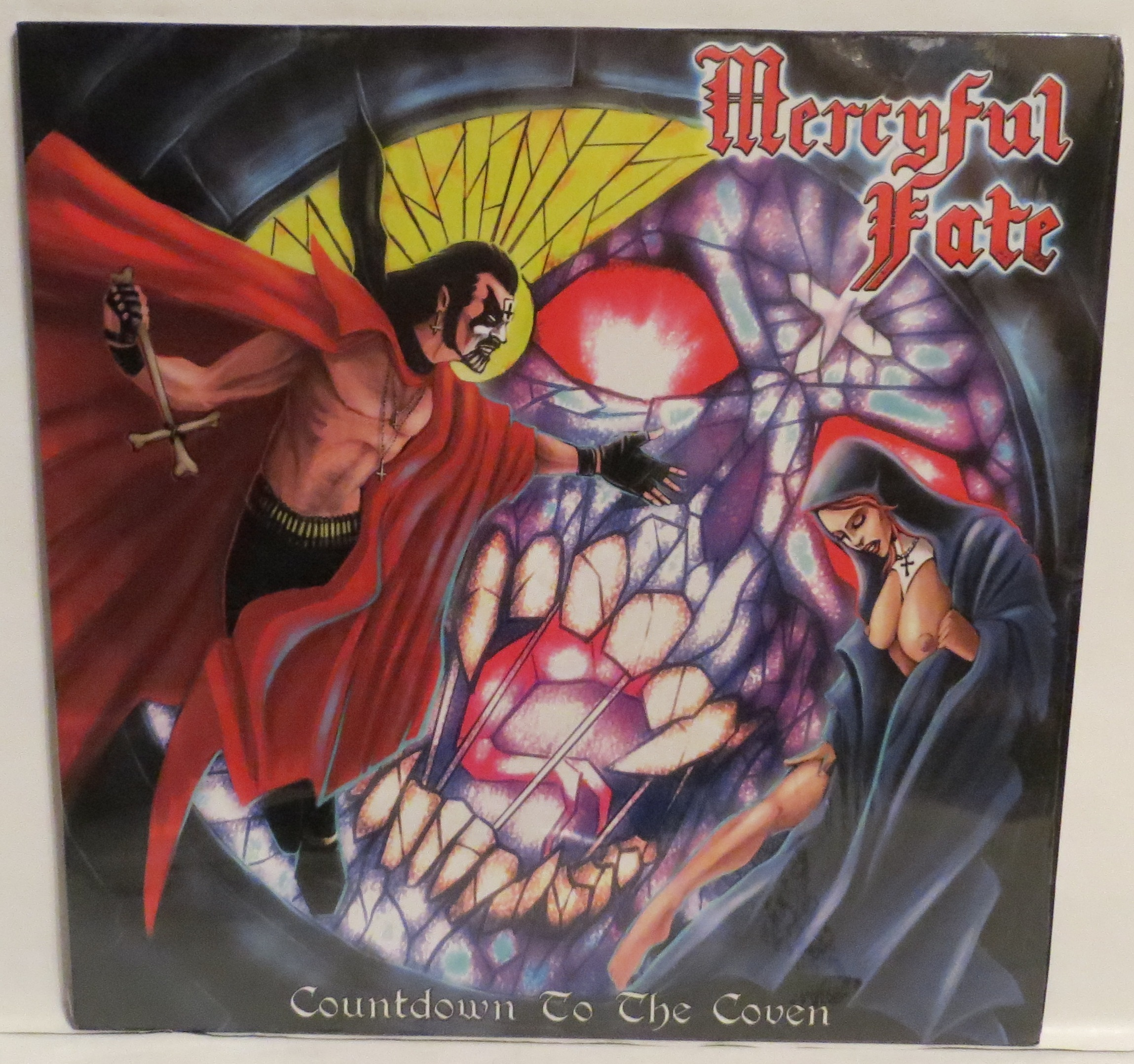 Mercyful Fate Countdown To The Coven Black Vinyl LP