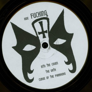 Mercyful Fate Crush The Cross Yellow Vinyl LP label side c