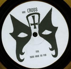 Mercyful Fate Crush The Cross Yellow Vinyl LP label side d