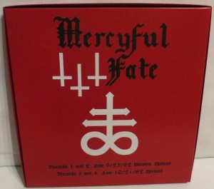 Mercyful Fate Denying Christ In Holland Box Set back