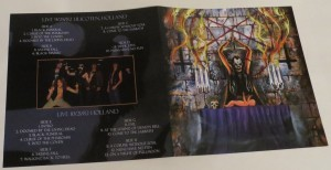 Mercyful Fate Denying Christ In Holland Box Set insert