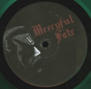Mercyful Fate Denying Christ In Holland Box Set label side b