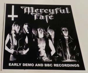 Mercyful Fate Early Demo and BBC Recordings 10'' Acetate