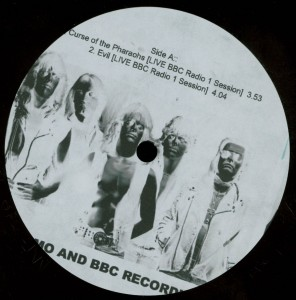 Mercyful Fate Early Demo and BBC Recordings 10'' Acetate label side a