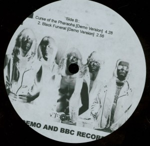 Mercyful Fate Early Demo and BBC Recordings 10'' Acetate label side b