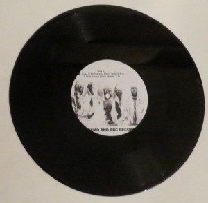 Mercyful Fate Early Demo and BBC Recordings 10'' Acetate side b