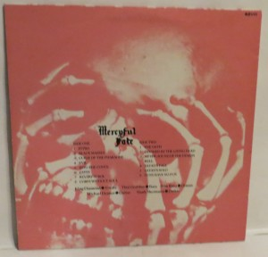 Mercyful Fate Live From The Depths Of Hell LP back