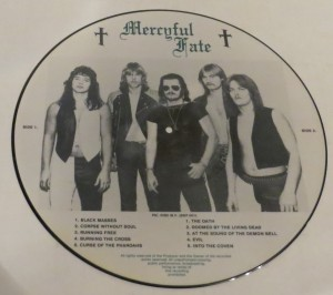 Mercyful Fate Live From The Depths Of Hell Picture Disc LP back