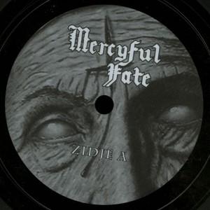 Mercyful Fate Luttenberg Nederland 22.01.1984 10'' Acetate label side a