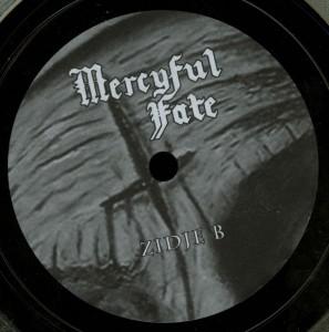 Mercyful Fate Luttenberg Nederland 22.01.1984 10'' Acetate label side b