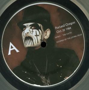 Mercyful Fate Mercyless Hate LP label side a