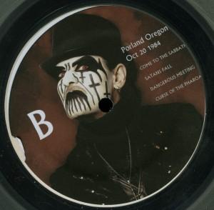 Mercyful Fate Mercyless Hate LP label side b