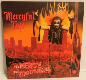 Mercyful Fate No Mercy For Montreal Black Vinyl LP