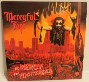Mercyful Fate No Mercy For Montreal Black Vinyl LP