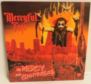 Mercyful Fate No Mercy For Montreal Red And White Vinyl LP