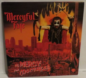 Mercyful Fate No Mercy For Montreal Test Pressing LP
