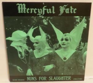 Mercyful Fate Nuns For Slaughter Blue Vinyl LP