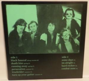 Mercyful Fate Nuns For Slaughter Blue Vinyl LP back