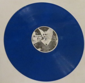 Mercyful Fate Nuns For Slaughter Blue Vinyl LP side a