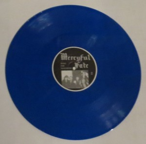 Mercyful Fate Nuns For Slaughter Blue Vinyl LP side b