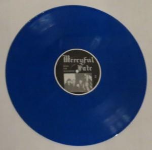 Mercyful Fate Nuns For Slaughter Blue Vinyl LP side b
